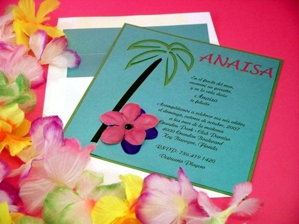 Hawaiian Invitation