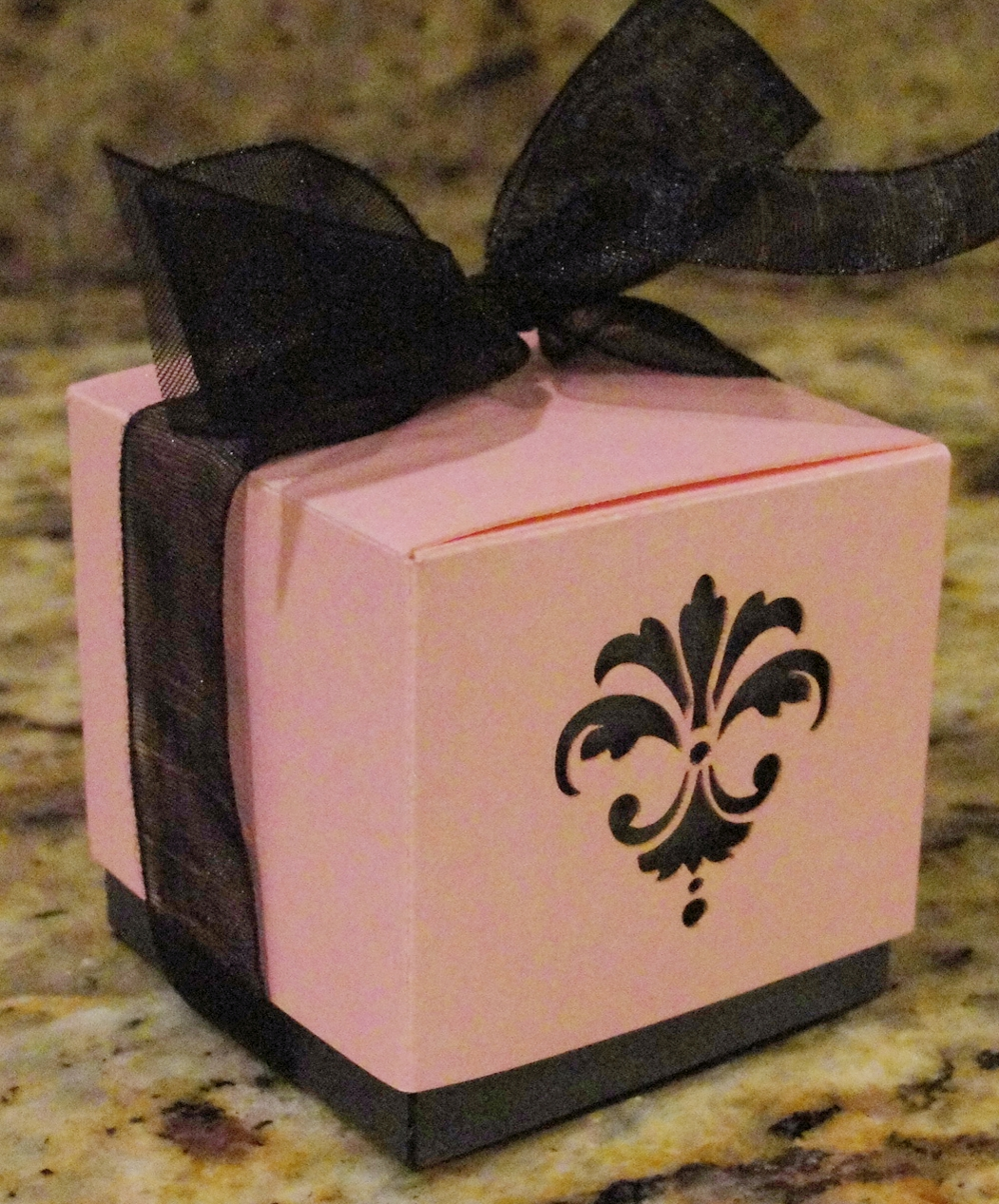 Laser Cut Two Piece Favor Boxes - 2 1/4 Inch